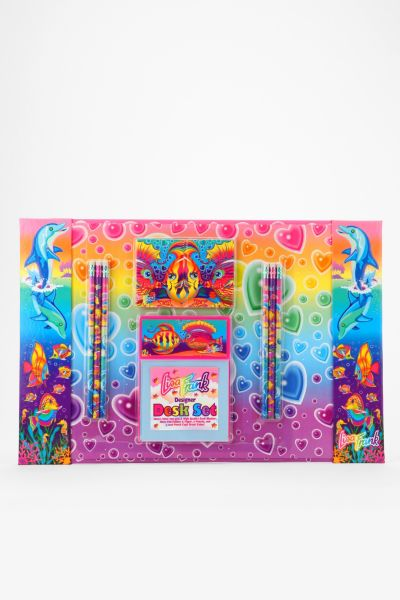 Lisa Frank Limited Edition Vintage Under The Sea Designer Desk Set