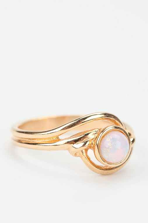 Diament Jewelry For Urban Renewal Opal Glass Ring