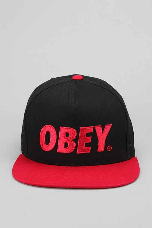 OBEY The City Logo Hat
