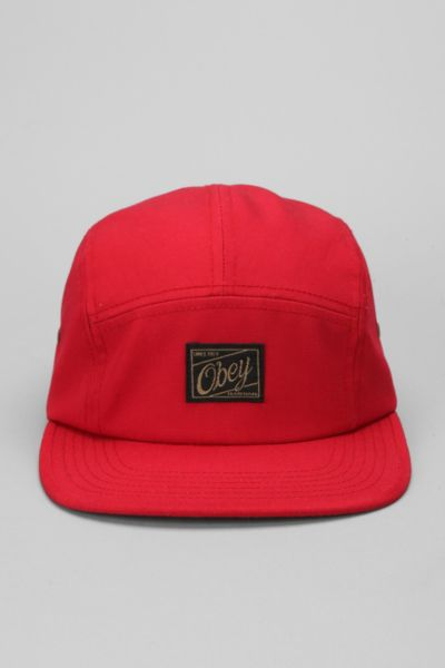 OBEY Expedition 5-Panel Hat