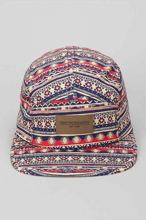 OBEY Marrakesh 5-Panel Hat