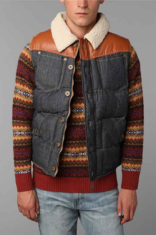 Staple Bustleton Denim Vest