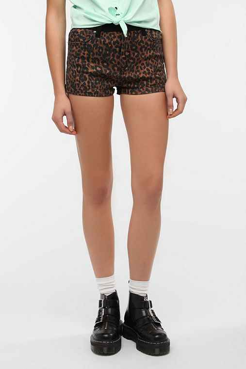 Tripp NYC Animal Print Short