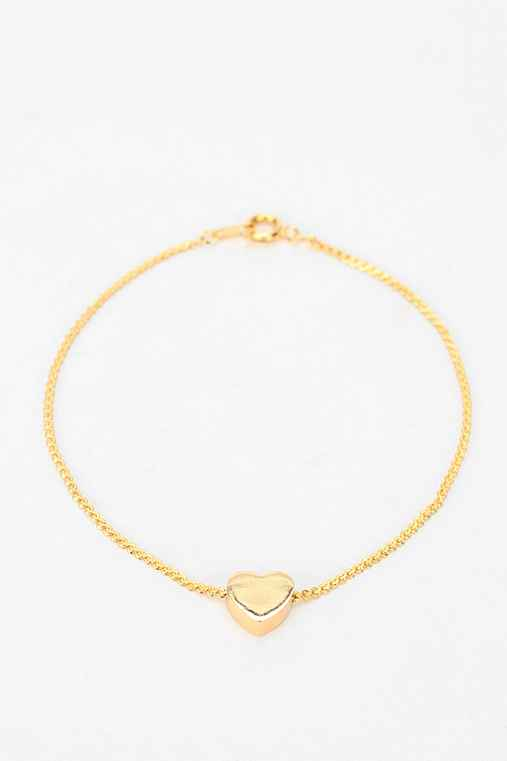 Diament Jewelry For Urban Renewal Heart Bracelet