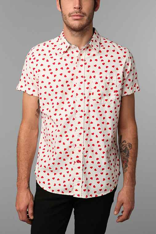 CPO Heart Shirt: White Xl M app buttondownshirts