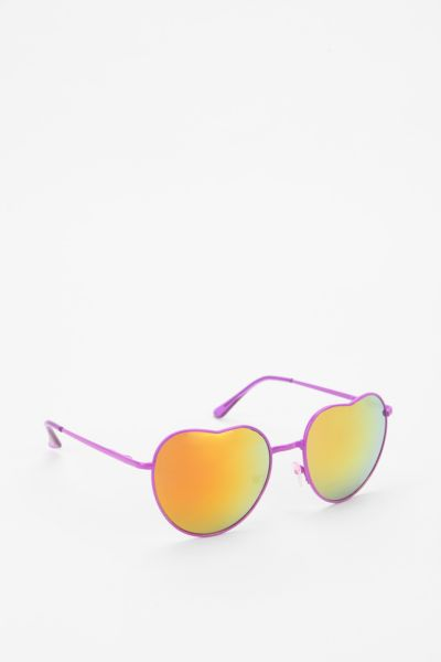 Apple & Orange Heart Sunglasses