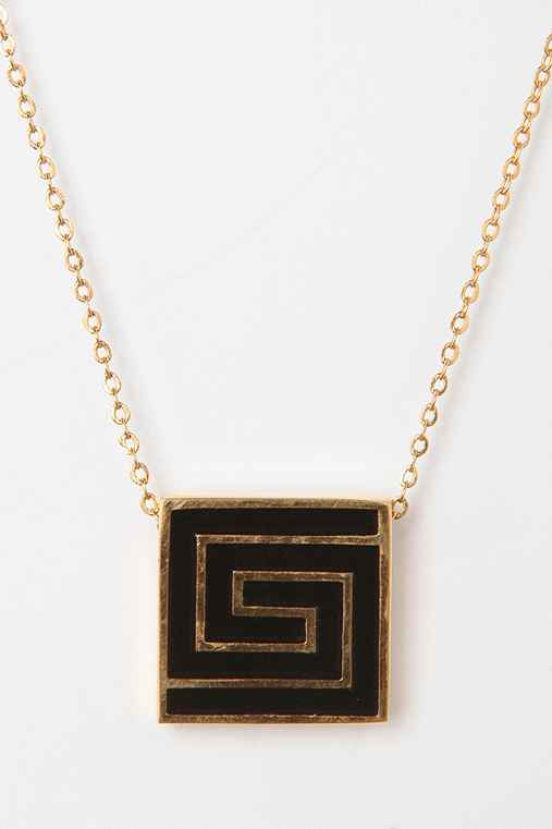 Vintage '70s Givenchy Logo Necklace