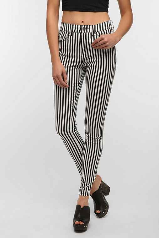 Tripp NYC High-Rise Antique Stripe Jean