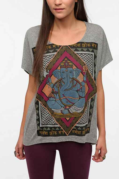 Title Unknown Ganesha Triblend Tee