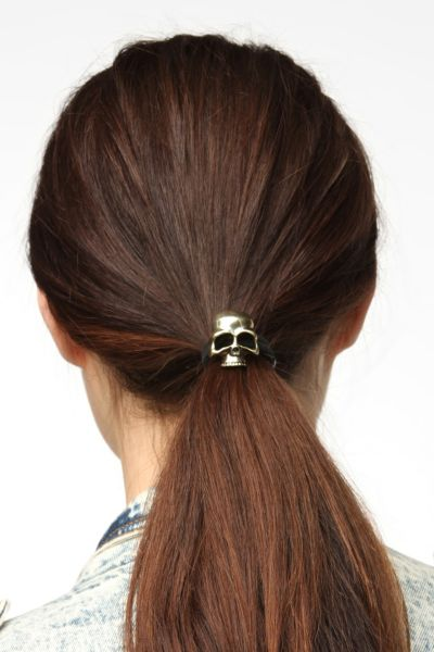 Skull Ponytail Holder