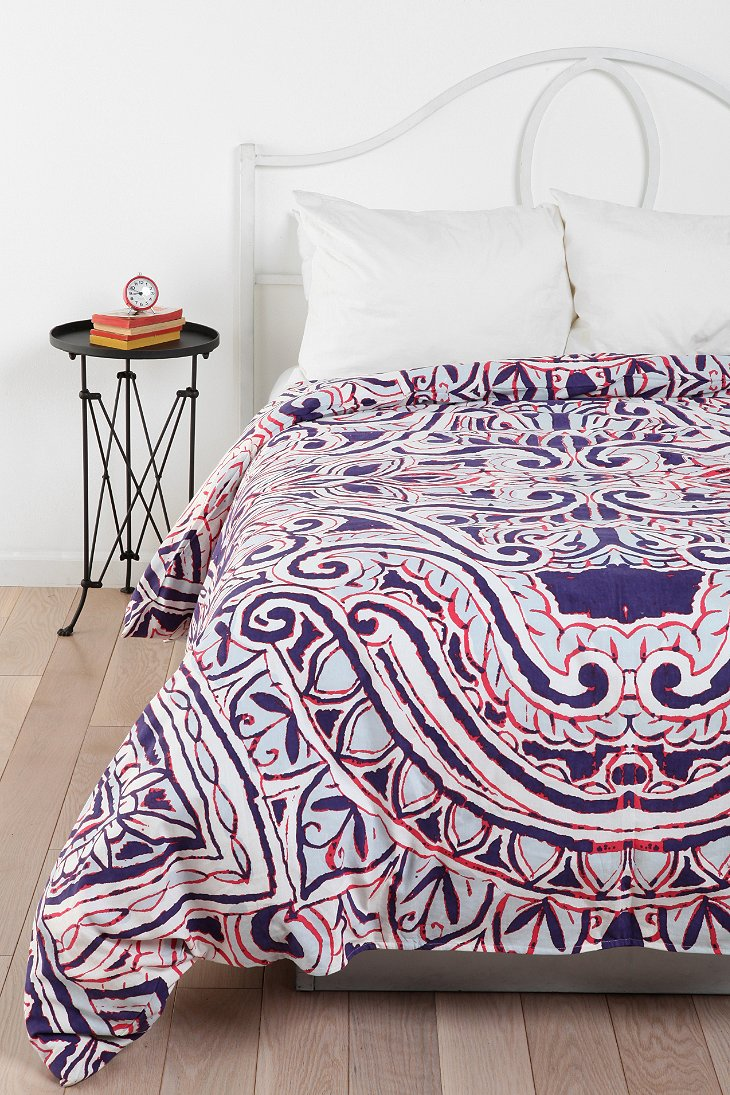 Magical Thinking Pom Fringe Duvet Cover
