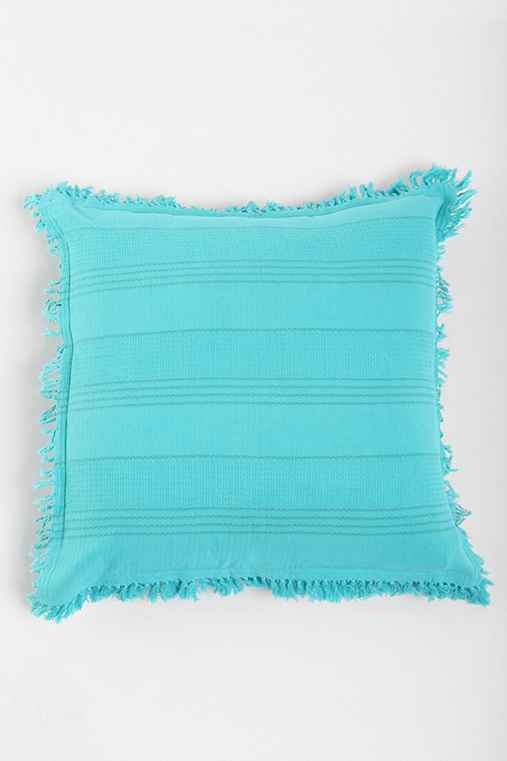 Magical Thinking Stripe Fringe Pillow