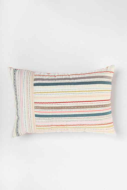 Plum & Bow Ribbon Pillow