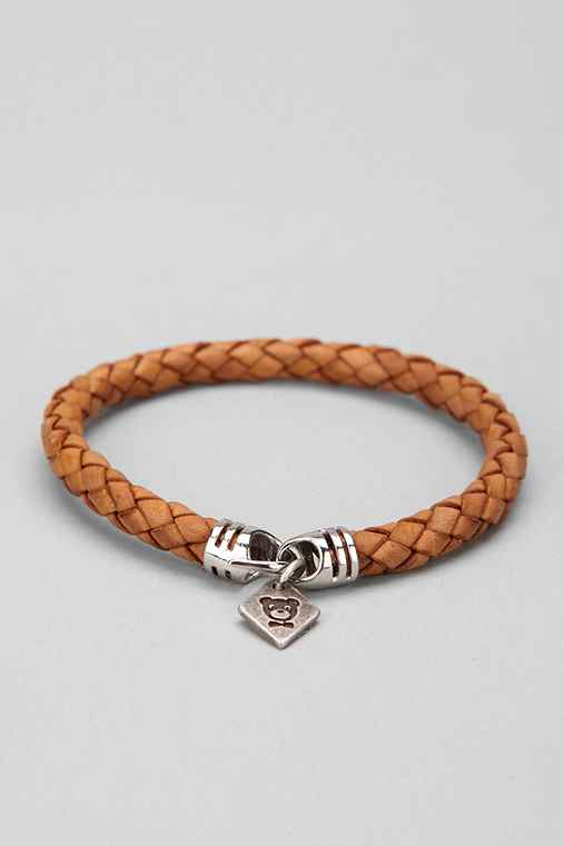 Profound Aesthetic Braided Leather Bracelet