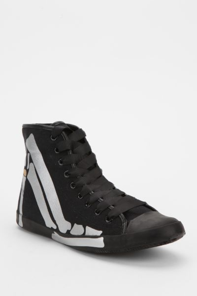 Be&D Skeleton Talon High-Top Sneaker