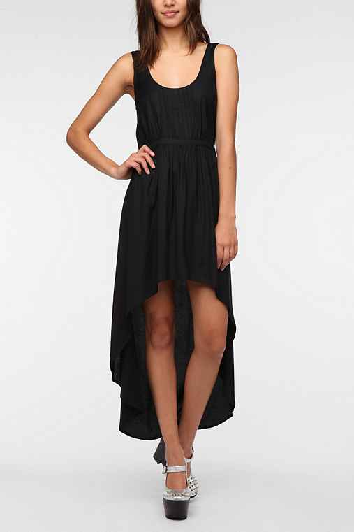 Ecote Soft Woven High/Low Dress