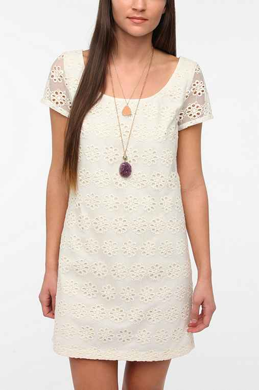 Staring At Stars Lace Frock Dress