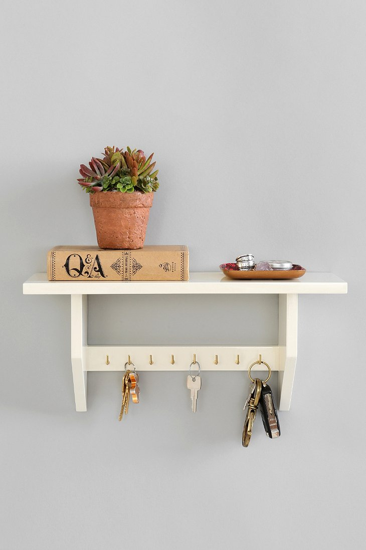 plum bow key holder shelf urban outfitters. Black Bedroom Furniture Sets. Home Design Ideas