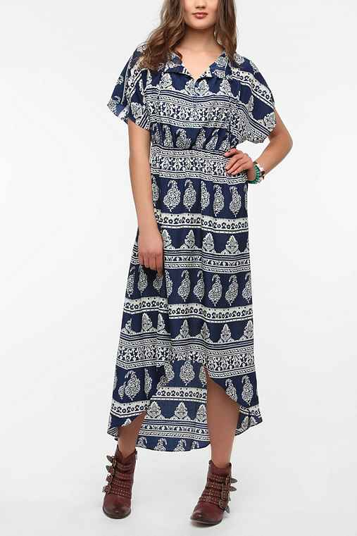 Staring at Stars Silky Dolman Maxi Dress