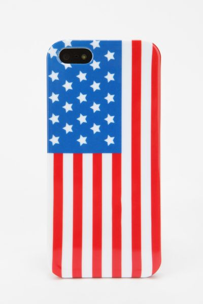 UO Flag iPhone 5 Case