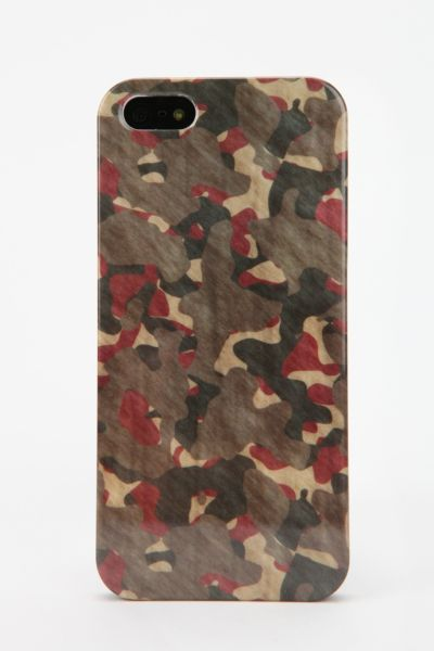 UO Camo iPhone 5 Case