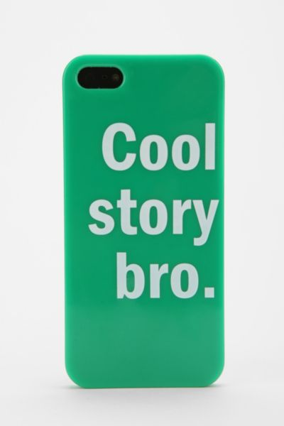 UO Cool Bro iPhone 5 Case