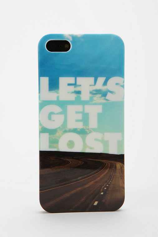 UO Let's Go iPhone 5/5s Case