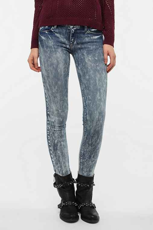 SOLD Design Lab Acid Wash Soho Skinny Jean