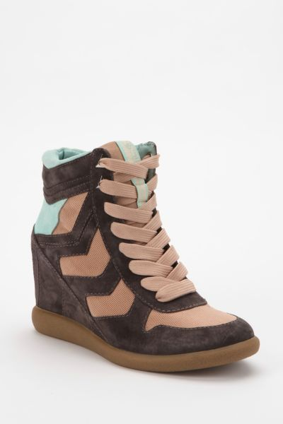 Sam Edelman Bennett Hidden Wedge High-Top Sneaker