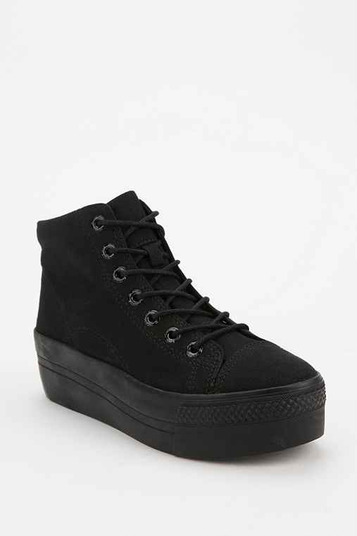 Vagabond Holly High-Top Flatform-Sneaker