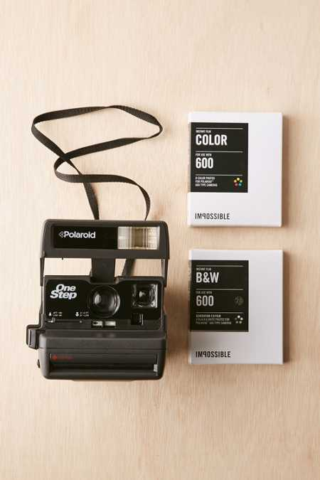 Vintage Impossible One Step Camera Kit