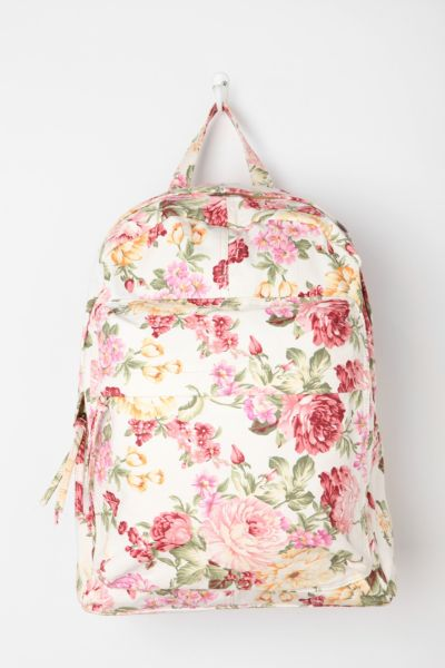BDG Floral Collage Backpack
