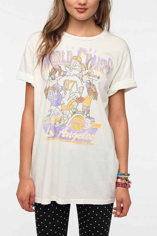 Junk Food Looney Tunes Lakers Tee