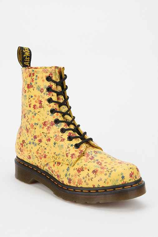 Dr. Martens Bright Floral 1460 Boot