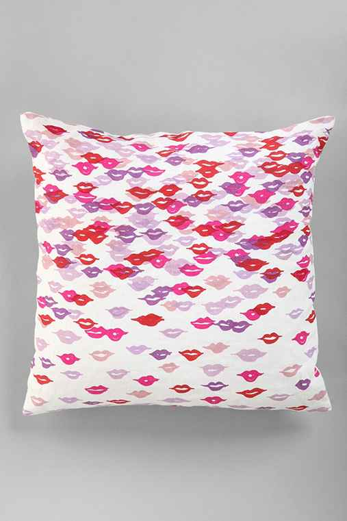 Plum & Bow Kisses Pillow