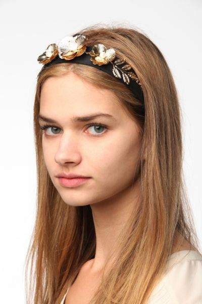 Ornate Floral Headband