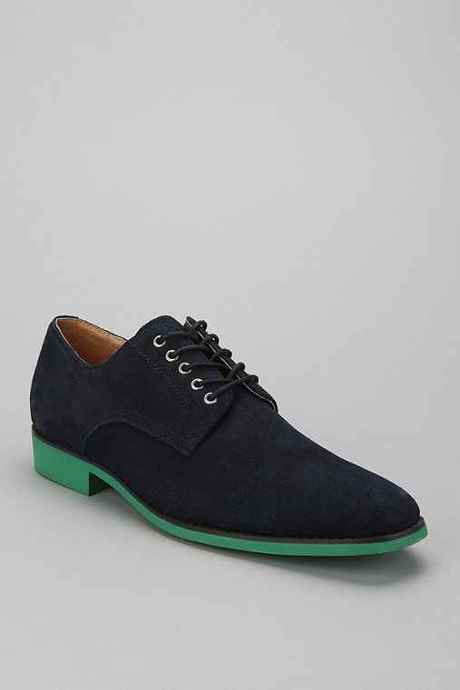 JD Fisk Vincent Suede Oxford Shoe