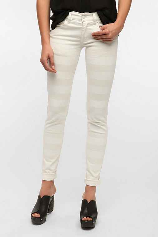 Cheap Monday Tonal Stripe Skinny Jean
