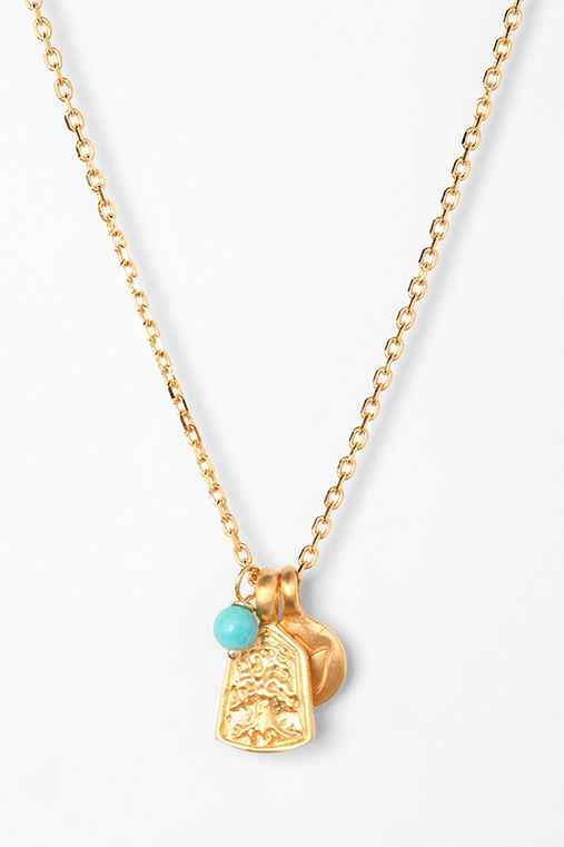 Satya Lotus Charm Necklace