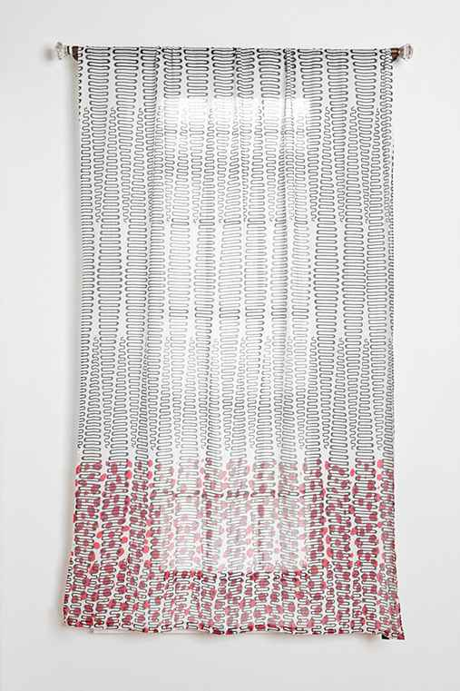 Magical Thinking Diamond Dot Curtain