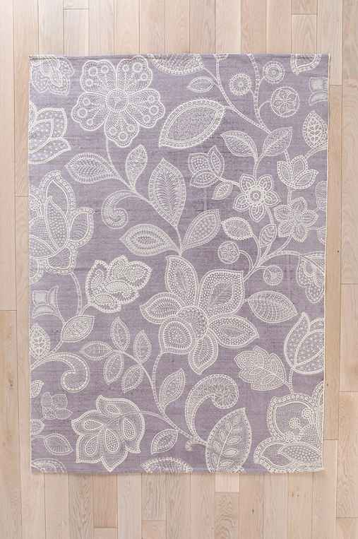 Plum & Bow Sugarplum Lace Rug