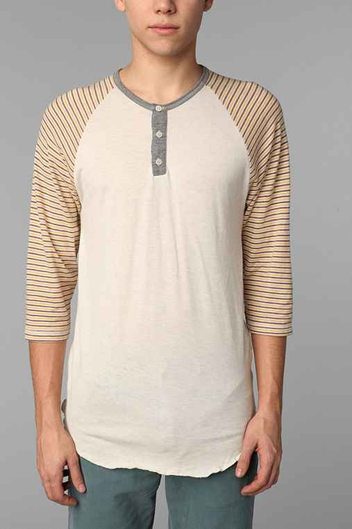 Alternative Frogger Stripe Henley