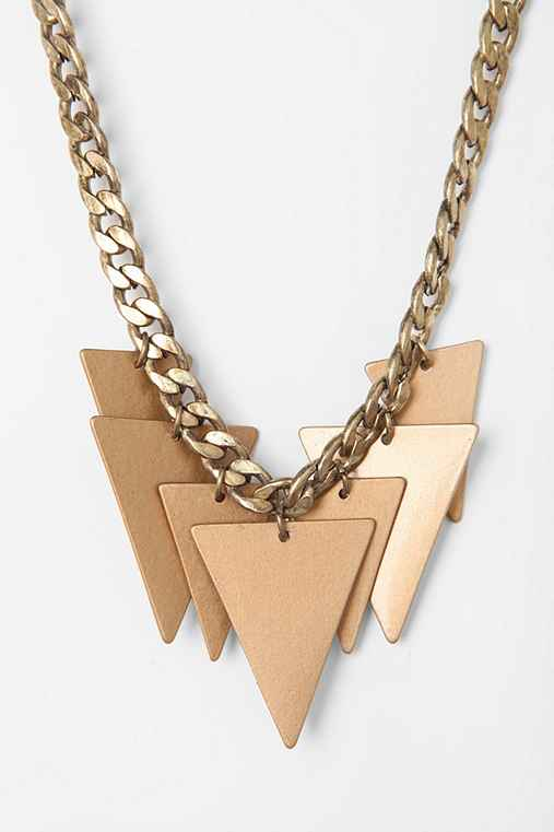 Hawthorne Triangle Necklace