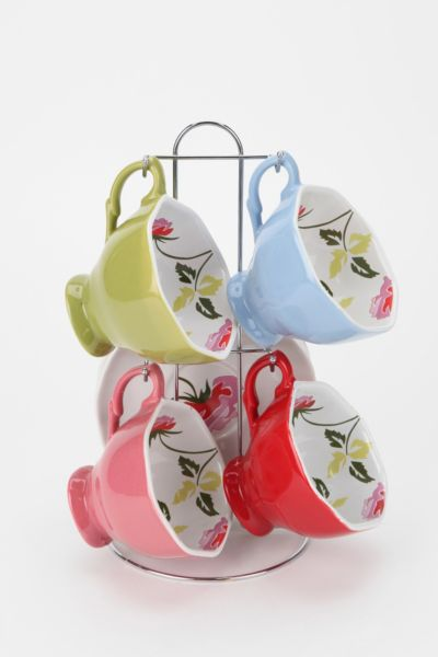 Hanging Teacup Set