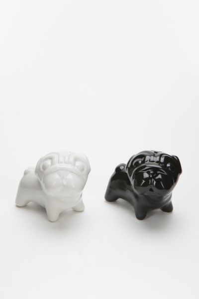 Bulldog Salt And Pepper Shaker - Set Of 2