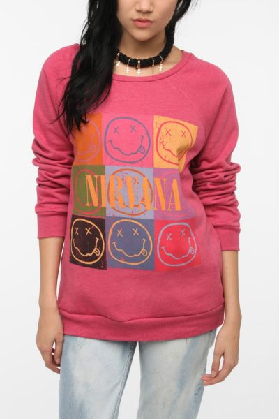Nirvana Rock Band Sweatshirt