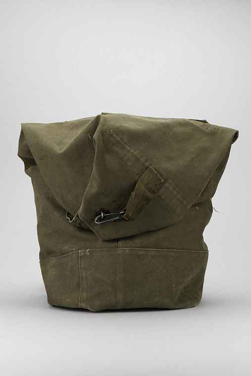 Urban Renewal Vintage US Military Duffle