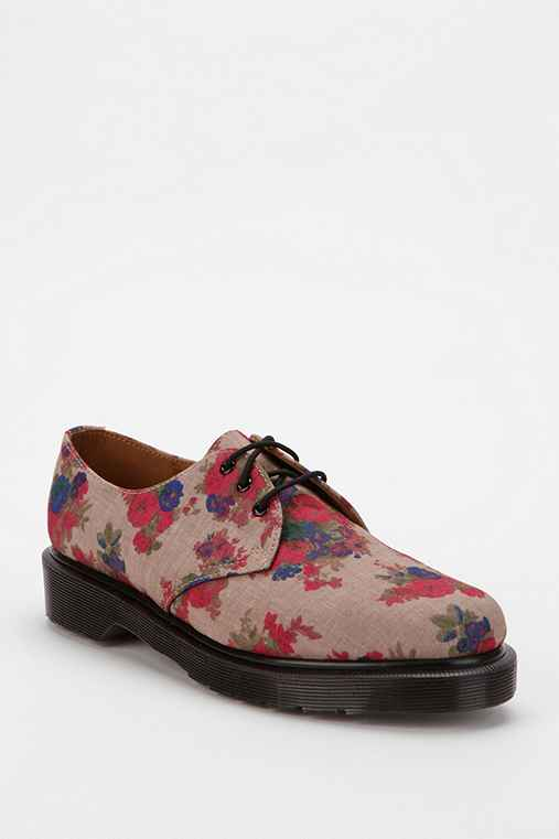 Dr. Martens Floral 1461 3-Eye Oxford