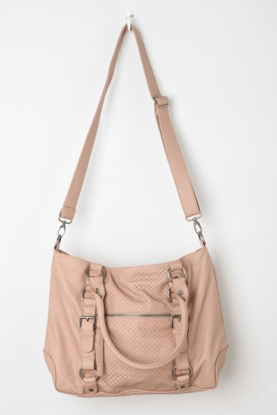 Deena & Ozzy Perforated Shoulder Bag