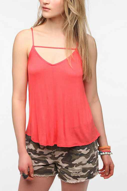 Daydreamer LA Threaded Halter Cami